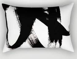 Brushstroke Throw Pillow