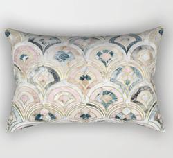 Art Deco Marble Pillow