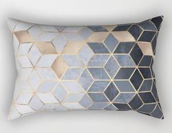 Blue Gradient Pillow