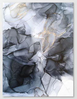 Calm but Dramatic Canvas Print