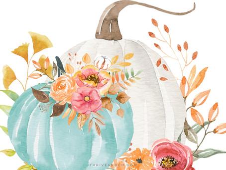 Easy DIY Floral Pumpkins