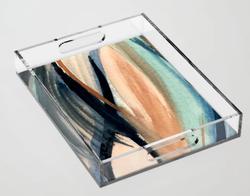 Waves Acrylic Tray