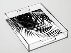 Palm Leaves Acrylic Tray