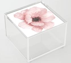 Flower 21 Art Acrylic Box