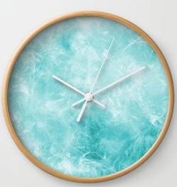 Abstract Till Wall Clock