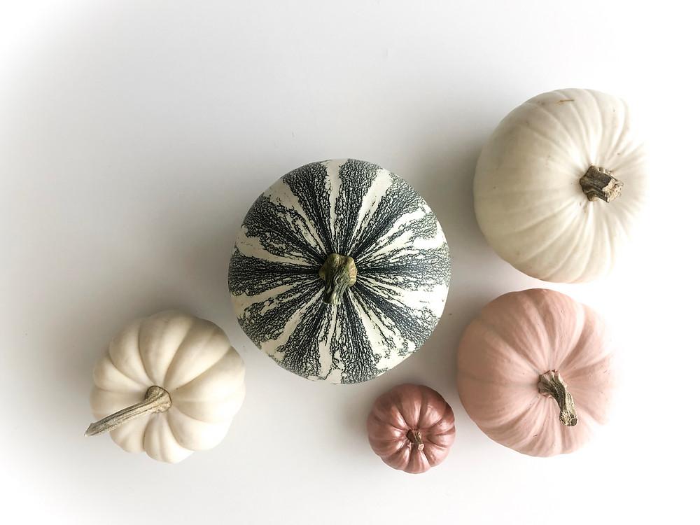 Modern Pumpkin Decor