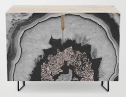 Agate with Rose Gold Credenza