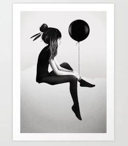 No Such Thing As Nothing Art Print