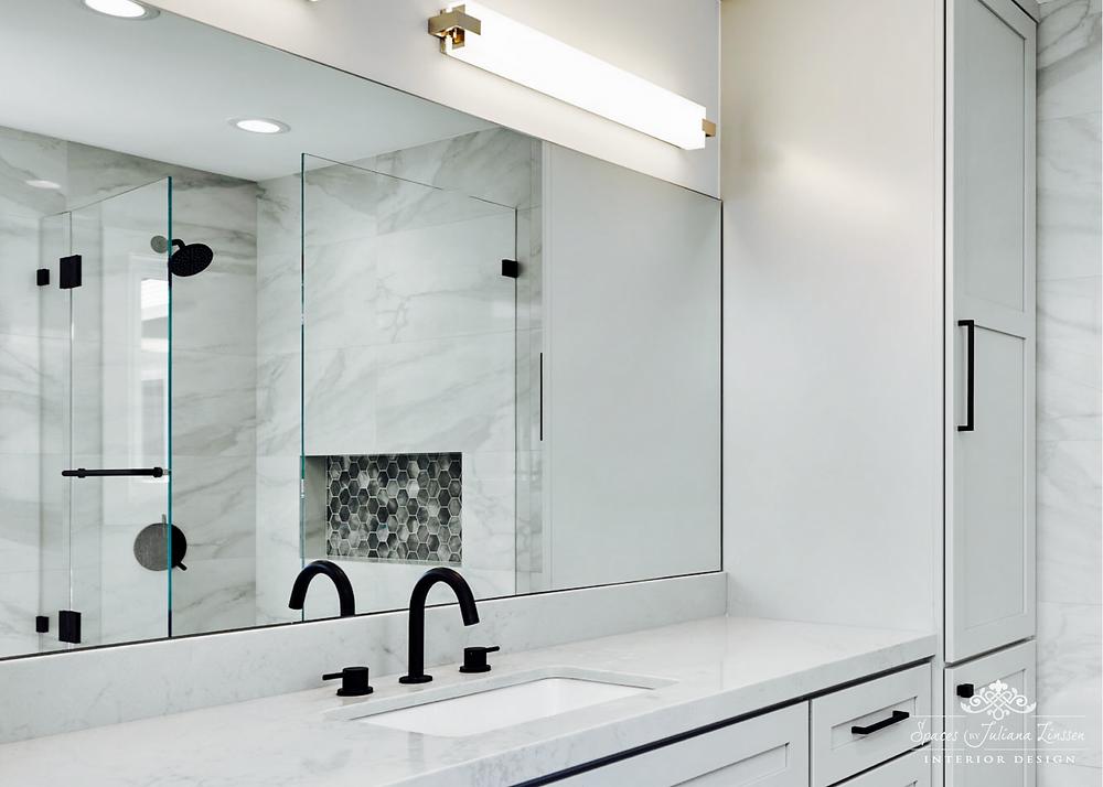 black matte bathroom faucet