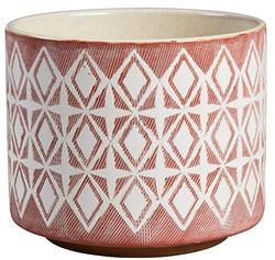 Rose Geometric Ceramic Planter