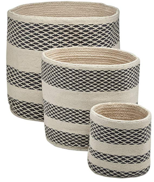 Handwoven Basket Set of 3