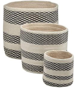 Handwoven Basket Set of 3
