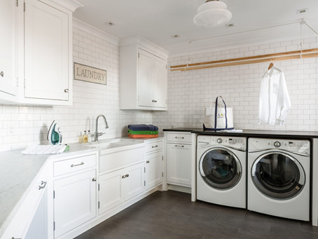 Design Guide: Top 5 Laundry Room Trends