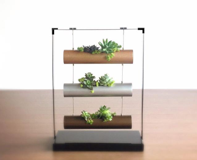 Modern Vertical Planter