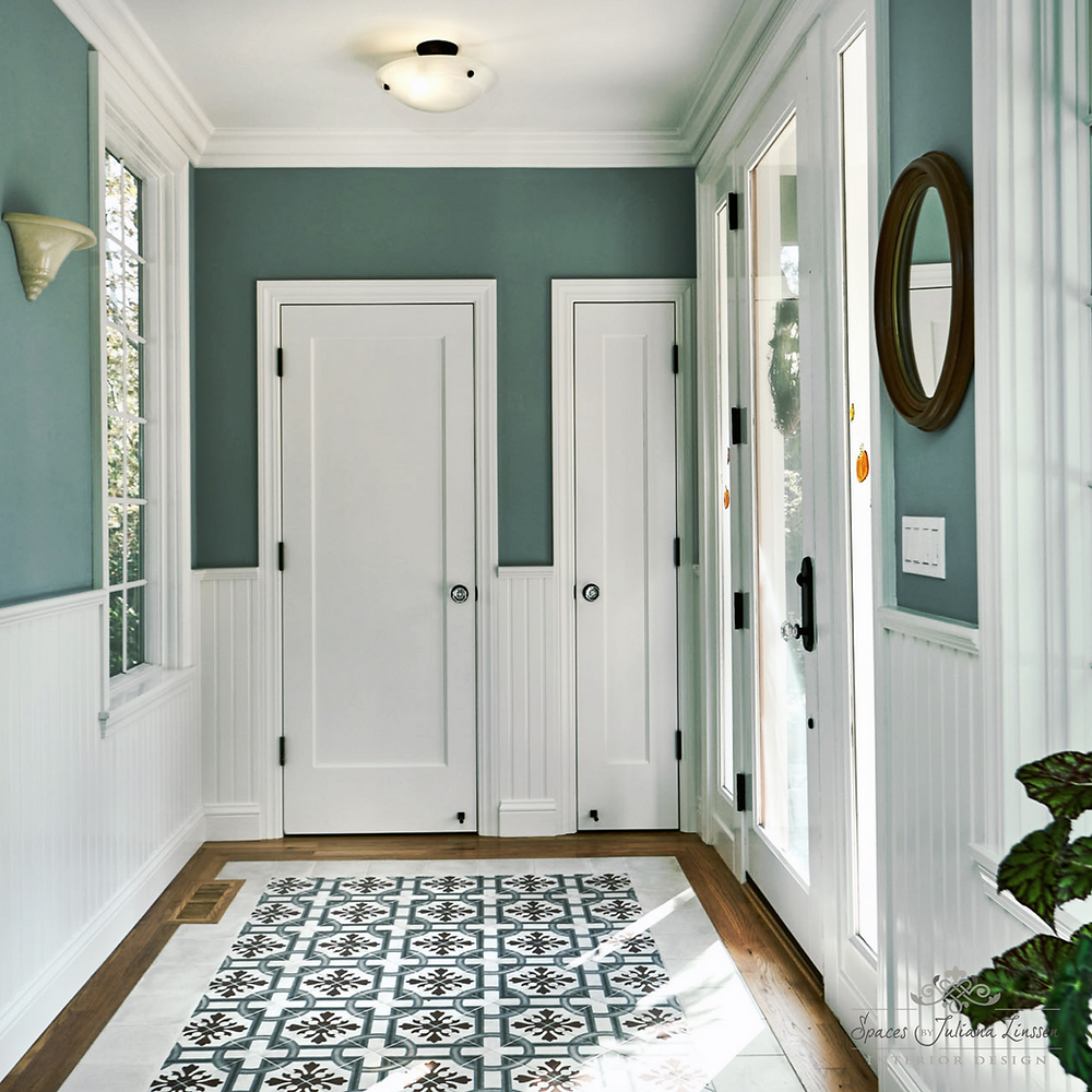 teal wall color