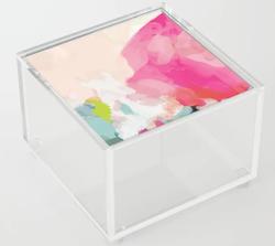 Pink Sky Acrylic Box