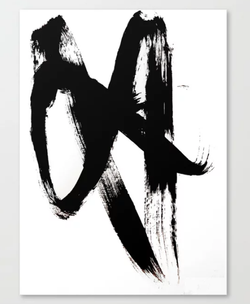 Brushstroke Canvas Print