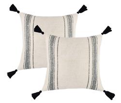 Cotton Thick Woven Tassel Pom Pom Luca S