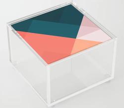 Geometric Acrylic Box
