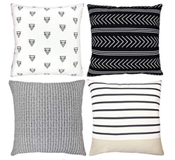 Atlas Geometric Pillow Set of 4