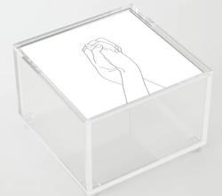 Never Let Me Go Acrylic Box