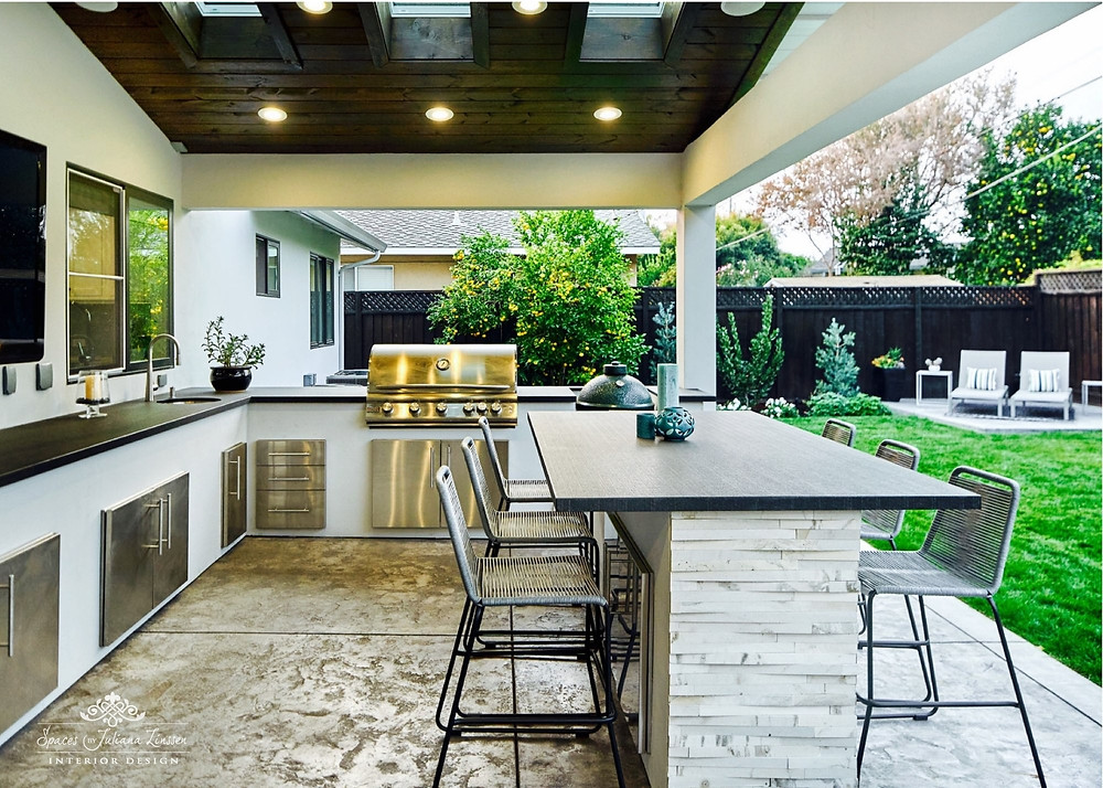 Outdoor Kitchen Lighting Design