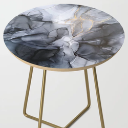 Calm Dramatic Side Table