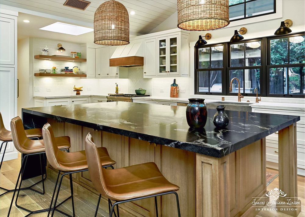 rattan kitchen pendants