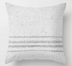 FARMHOUSE GRAIN SACK Throw Pillow