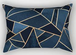Navy Stone Pillow