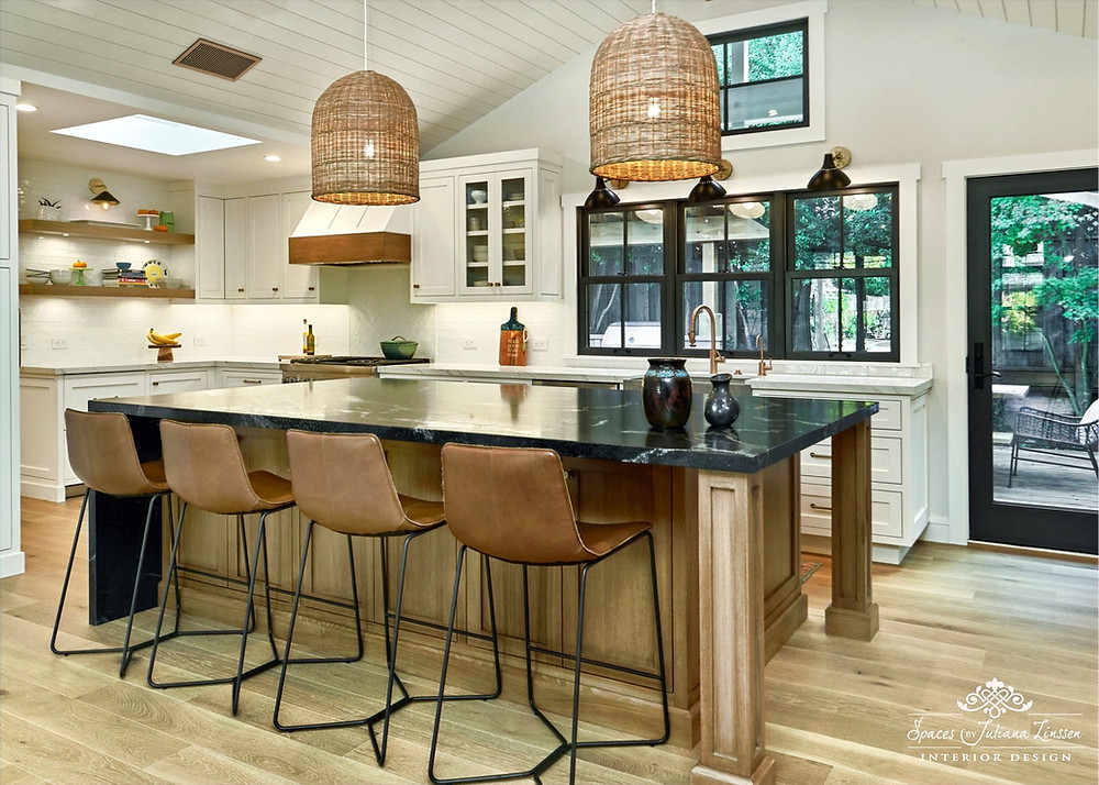 modern and traditional kitchen