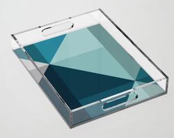 Geometric 1701 Acrylic Tray