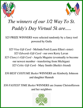 And the winners of our 1_2 Way To St. Pa