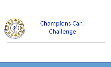 Champions Can! Challenge