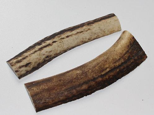 Plaquettes en bois de cerf