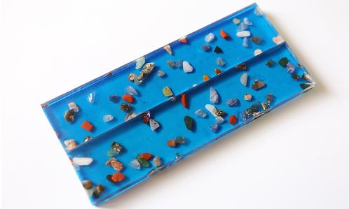 Crystallium® bleu et pierres