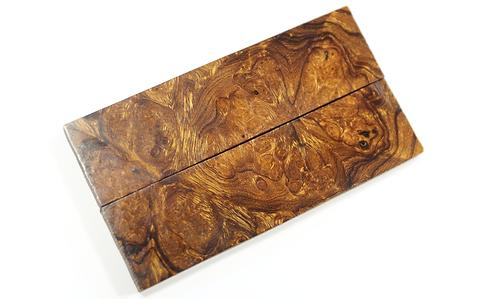 Loupe de bois de fer 100x26x6mm