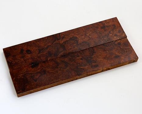 Loupe de bois de fer 123x26x6mm