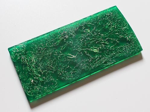 Plaque de Cristallium® éponge vert
