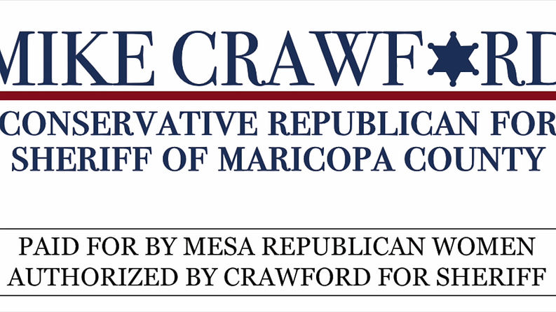 Crawford for Sheriff interview by Mesa Republican Women.