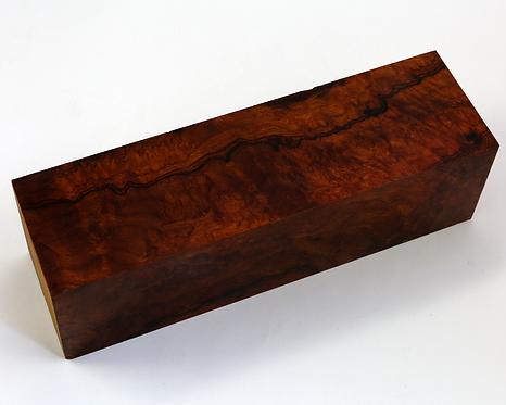 Quillon de loupe de bois de fer d'Arizona