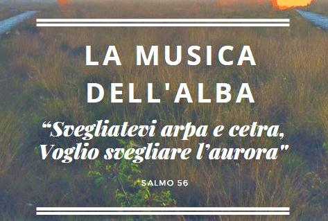 Albinea: flauto e chitarra all'alba nel giardino di Casa Betania