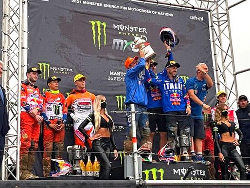 Motocross: l'Italia è Campione del mondo a squadre