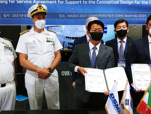 La Corea ed il colosso Daewoo affidano il design della nuova portaerei all'italiana Fincantieri