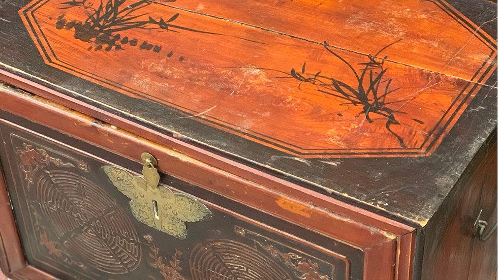 Antique Orient Trunk
