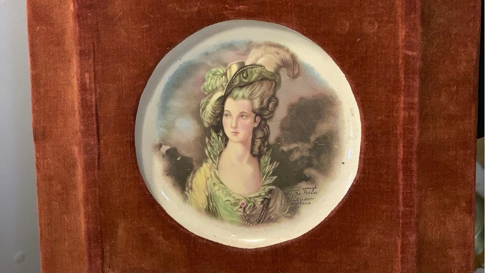 Antique Framed Plate