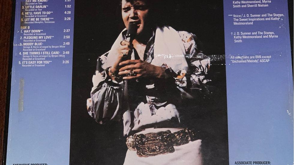 Original Moody Blue Elvis Unwrapped