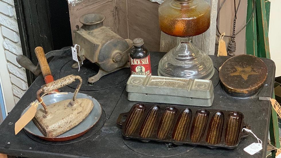Vintage Antique Wood Burning Stove