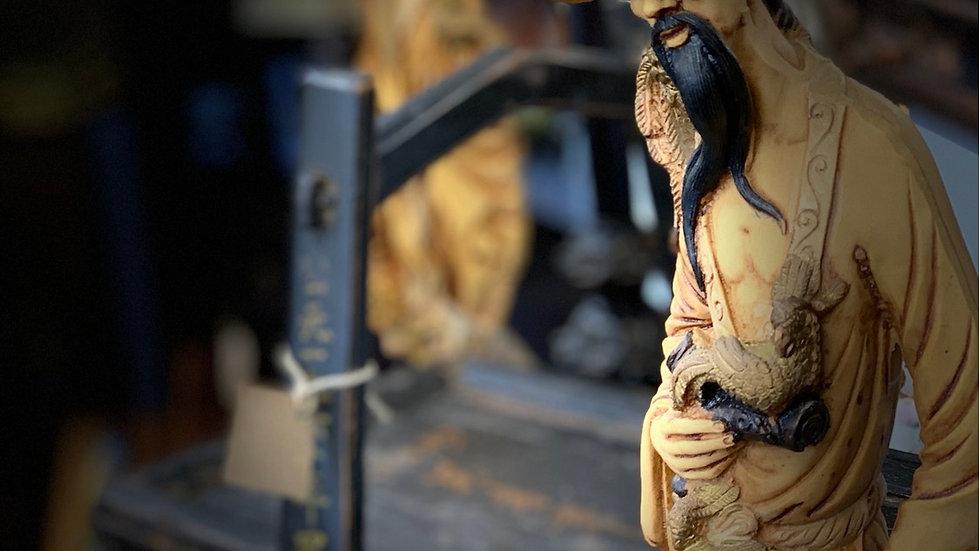 Antique Oriental Figurines Set of 2