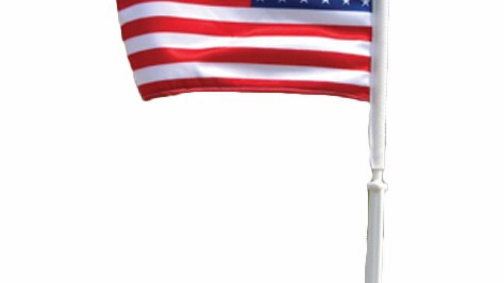 USA Car Window Flag.  Free while supplies last  with any purchase .